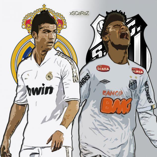 Neymar I Ronaldo Savr  Eni Protivnici