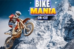Automobilske igre Bike Mania on Ice