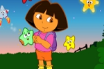 Igre za djecu Dora the Explorer - Star Catching