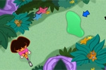igre za djecu Dora's Star Mountain Mini-Golf!