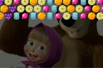 Puzzle Masha and the Bear: Candy Shooter