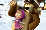Igre za djecu Masha and the Bear: Hidden Objects
