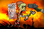 akcijske igre Mass Mayhem: Extra Bloody Zombie Apocalypse