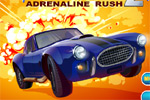 automobilske igre Rich Cars 2: Adrenaline Rush