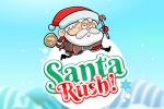 automobilske igre Santa Rush