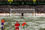 Sportske igre Santa's Penalty Kick World Cup