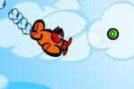 zabavne igre The Squirrel Family in Aeroplane