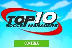 mobilne igre Top 10 Soccer Managers