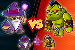 Wizard vs. Orcs