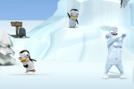 arkadne igre Yeti Sports: Pingu-Throw