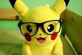 Pikachu s naočalama ♥