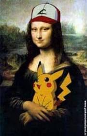 Pikachu i Mona Lisa