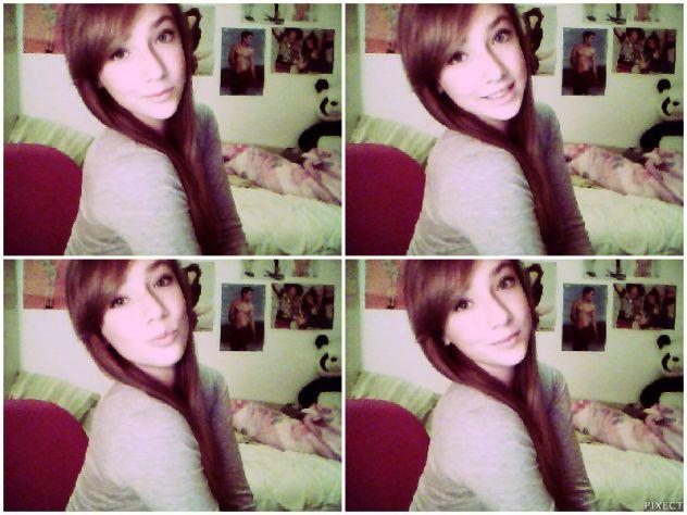 nisam ja uvijek sretna, osmijeh mi je navika. <3