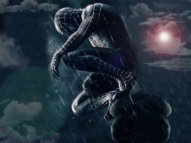 crni spider-man