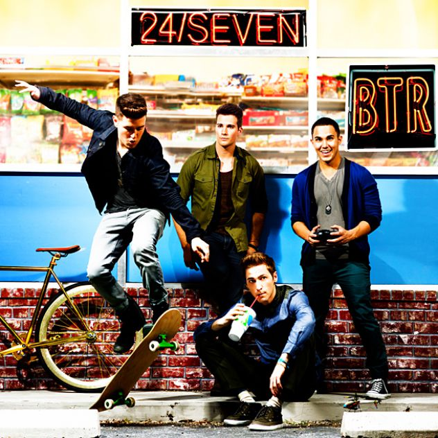 Big Time Rush- 24/seven xD