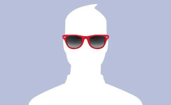 crvene cool naočale