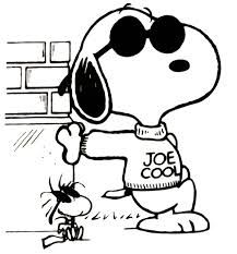 Snoopy-the cool dog