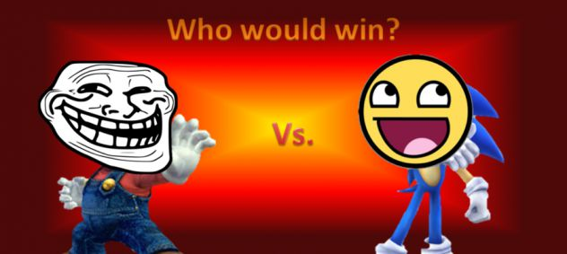 troll face vs epic face