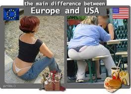 GLAVNA RAZLIKA IZMEĐU EUROPE I SAD-A