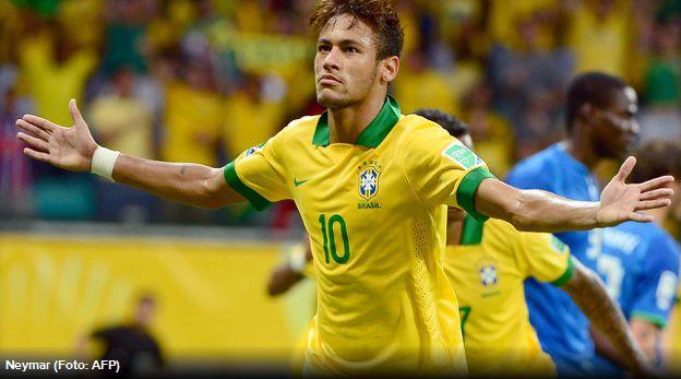 Neymar slavi