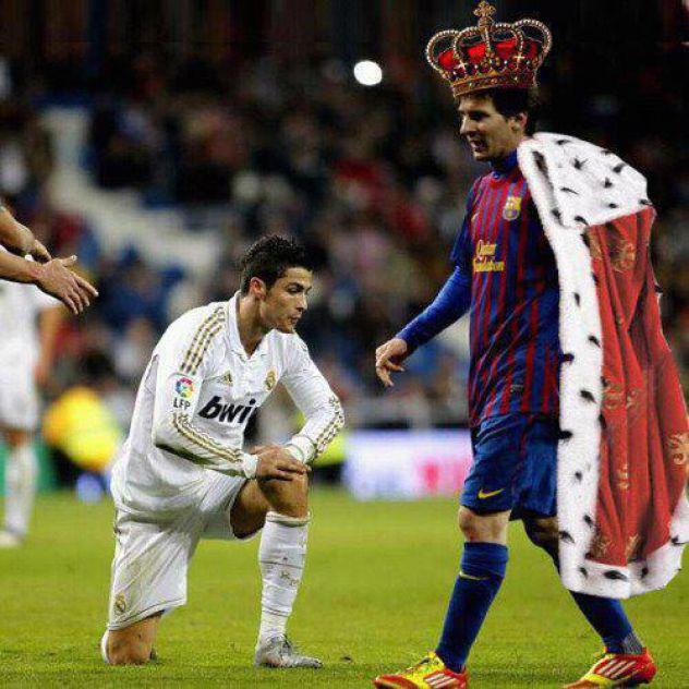 Messi car, a Ronaldo sluga!