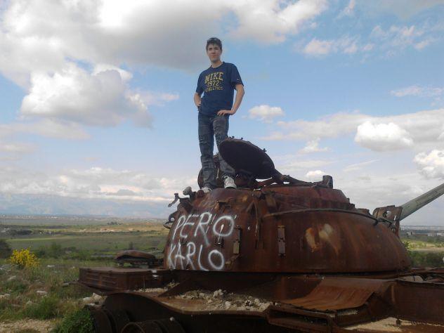 ja sam na tenku :D