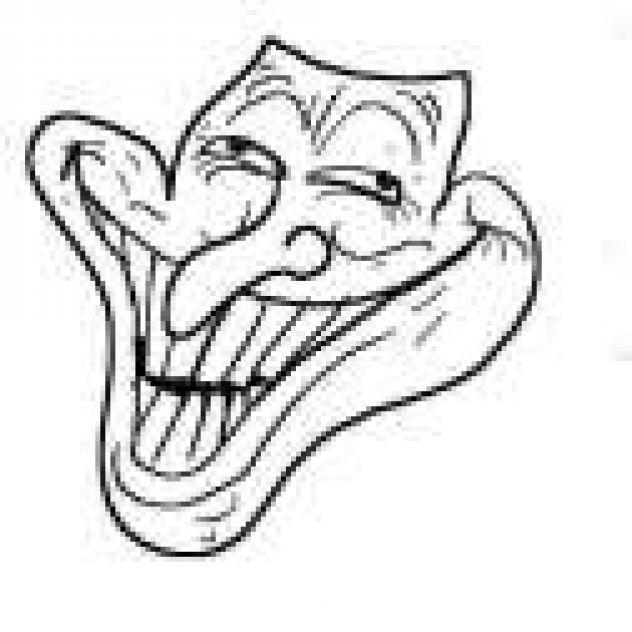 wacky trollface
