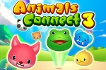 Mahjong igre Animals Connect 3