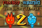 Avanture Fireboy & Watergirl 2 in The Light Temple