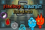 mobilne igre Fireboy & Watergirl 5 Elements