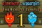 Logičke igre Fireboy & Watergirl in The Forest Temple