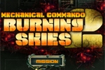 Akcijske igre Mechanical Commando 2: Burning Skies