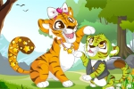 mobilne igre Mommy and Baby Tiger