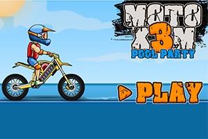 Moto X3M: Pool Party