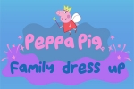 mobilne igre Peppa Pig: Family Dress Up
