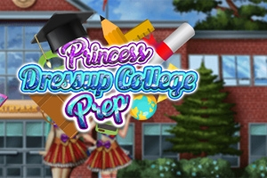 Princess Dressup: College Prep