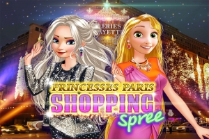 Princesses Paris Shopping Spree