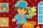 Sort My Tiles Dora the Pirate