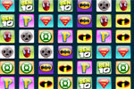 Super Heroes Logo Connect It